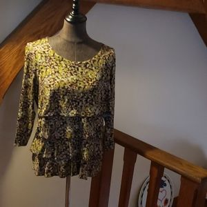 Coldwater Creek layered shirt